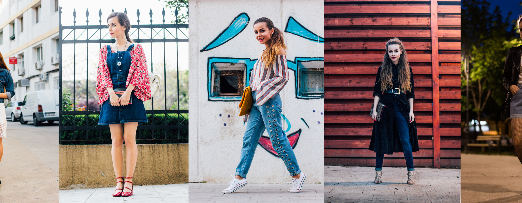 Challenge yourself to wear denim (in a cool way!)
