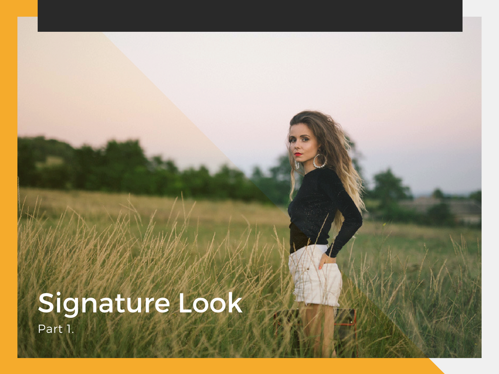 Signature Look Part 1 Par Ondulat Si Stil Personal